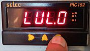 PIC152A-VI Process Indicator Input Voltage SELEC size 48x96